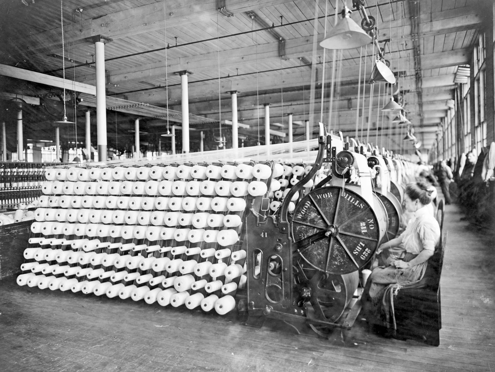 The history and evolution of the industrial sector