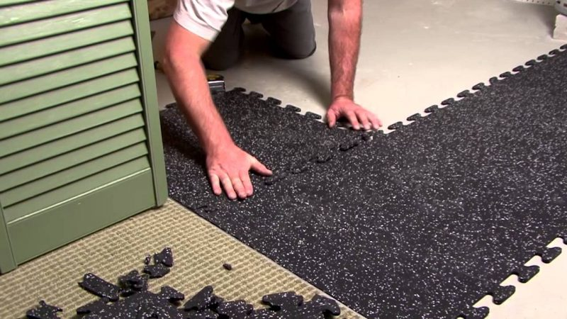 Recycled Rubber Mats For Any Space