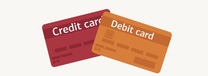 What is the difference between a debit card and a credit card?